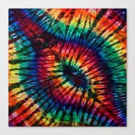 Tye Dye Rainbow Singularity Canvas Print
