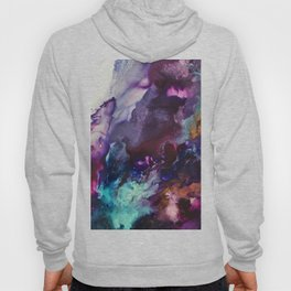 Expressive Flow 1 - Mixed Media Pain Hoody