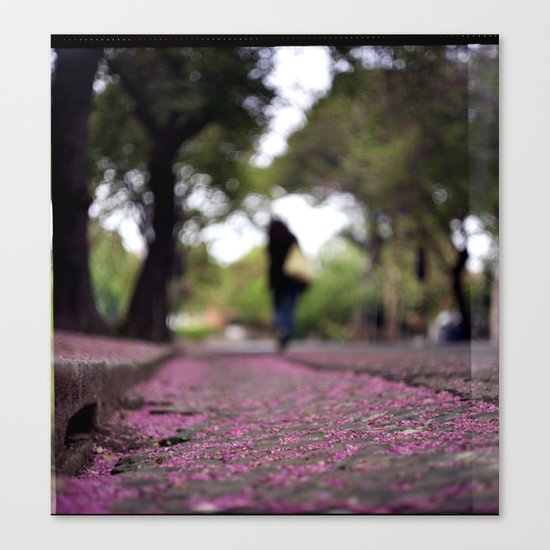 Purple Rain Canvas Print