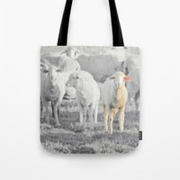 stay gold Tote Bags featuring STAY GOLD by SUNLIGHT STUDIOS  Monika Strigel
