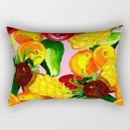 Fruitbowl loco Rectangular Pillow