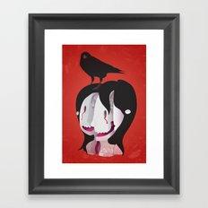 Shattered Mind Framed Art Print