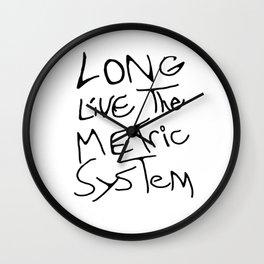 May It Live Long Wall Clock
