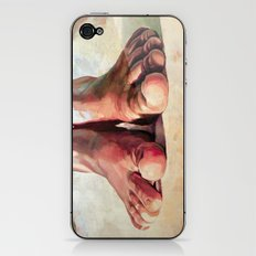 Pensando con los pies iPhone & iPod Skin