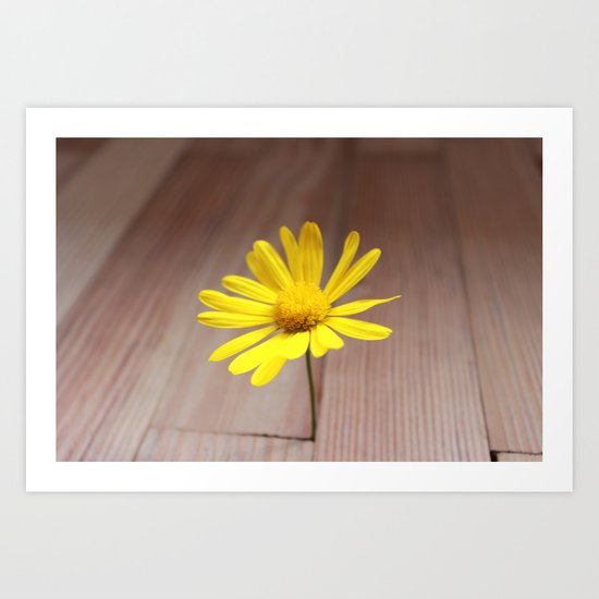simple happiness Art Print