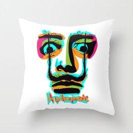 Hallucinate Dali Throw Pillow