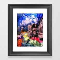 Fabric Road Framed Art Print