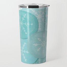 Christmas Baubles (Snowflake) Travel Mug