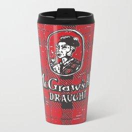 McGraws Ale Metal Travel Mug