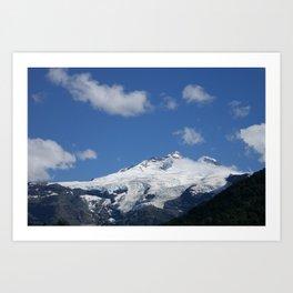 Cerro Tronador Art Print