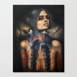 Running Eagle Canvas Print
