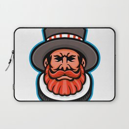 Beefeater or Yeoman Head Mascot Laptop Sleeve