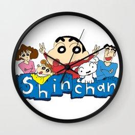Shin Chan 2 Wall Clock