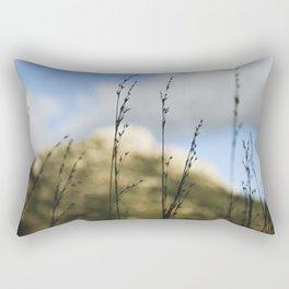 Grass Silhouettes Rectangular Pillow