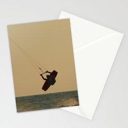 Kite Surfer Jumping Mandrem Stationery Cards