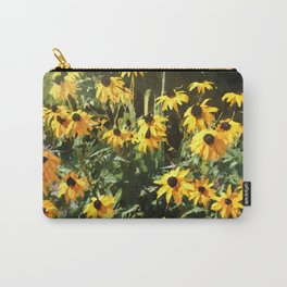 Black-eyed Susan Yellow Flowers Carry-All Pouch