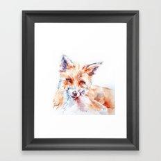 Let me be . . .  Red Fox Framed Art Print