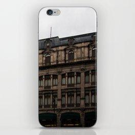 Gloomy Buildings iPhone Skin