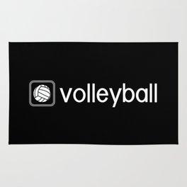 Volleyball (Grey) Rug