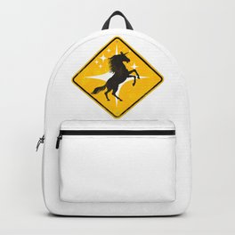 Caution: Unicorn Zone Backpack