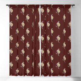 HELLO KANGAROO Blackout Curtain