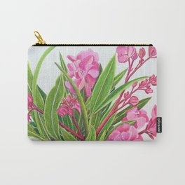 Oleanders Carry-All Pouch