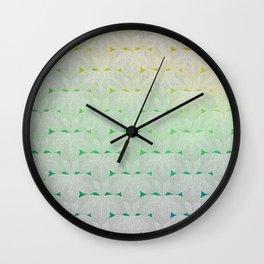 Leaf Skeletons #2 Wall Clock