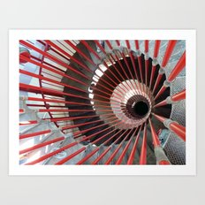 Staircase to Slovenia Art Print