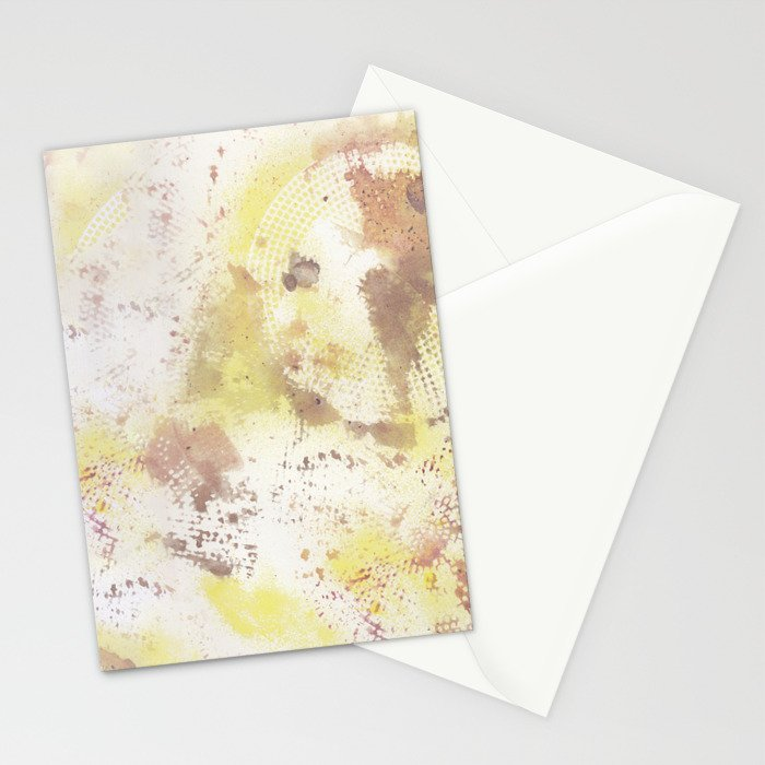 Mixed Media Abstract #2 Stationery Cards