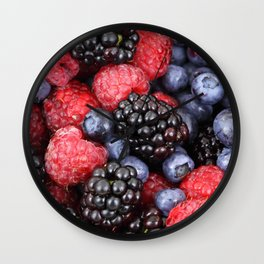 Fruit Fashion (Photographic Art) Wall Clock