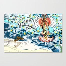 Harpazo catching away Canvas Print