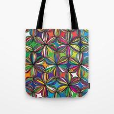 Ribbon Geometric Art Print. Tote Bag