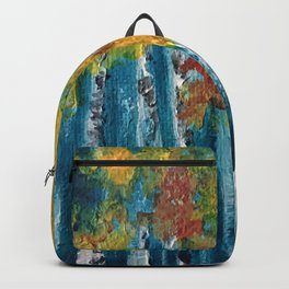 Abstract trees Backpack