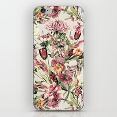 RPE FLORAL XI iPhone & iPod Skin