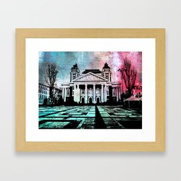 The theatre Framed Art Print