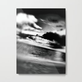 Slanted Horizon Metal Print