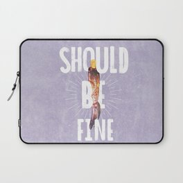 Should Be Fine-Sonic Screwdriver-Doctor Who Laptop Sleeve