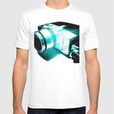 Bell & Howell MEDIUM Mens Fitted Tee White