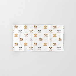 Puppy Dog Baby Nursery Wall Art Hand & Bath Towel