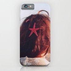 seaside girl iPhone 6s Slim Case