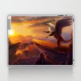 Morning Gryphon Laptop & iPad Skin