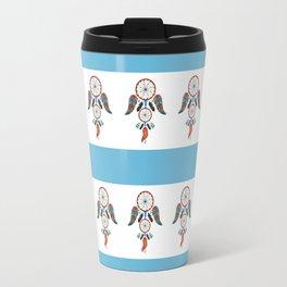 DREAM CATCHER ON WHITE Travel Mug