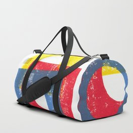 Basic in red, yellow and blue Duffle Bag