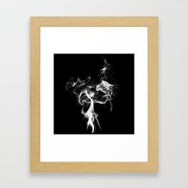 Smoke and Mirrors Framed Art Print