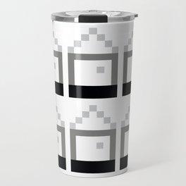 Houses of Squares Travel Mug