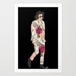 floral harry Art Print