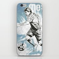 messi iPhone & iPod Skins featuring Lionel Messi by Renato Cunha