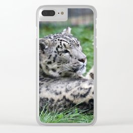 Aqua_Leopard_20180106_by_JAMColorsSpecial Clear iPhone Case