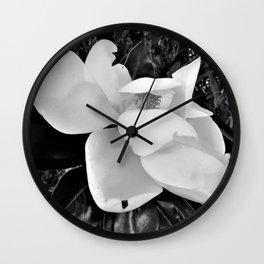 Magnolia Dreams Wall Clock
