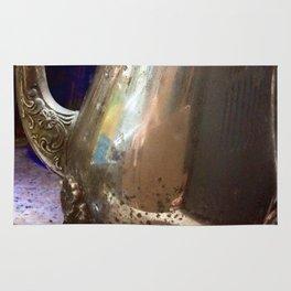 Antique silver Rug